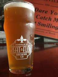 great flood brewing co pint