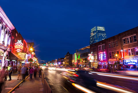 Nashville busy cityscape best cities to visit