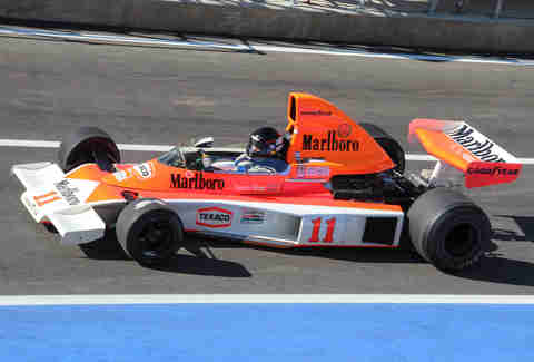 McLaren M23 of James Hunt