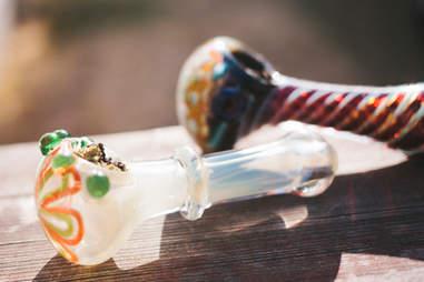Marijuana hand pipes bowls