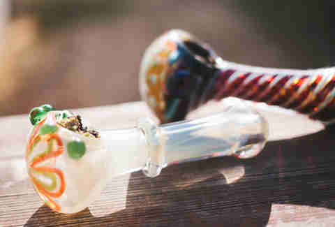 Marijuana hand pipes bowls