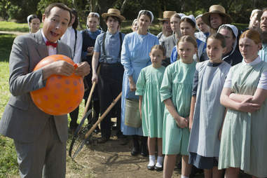 pee-wee's big holiday netflix review