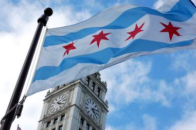 chicago flag best things in chicago round up wrigley building