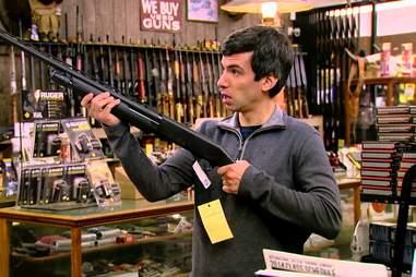Nathan For You, Nathan Fielder, Gun