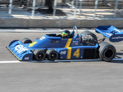 Tyrrell P34 at a Vintage race in Austin TX
