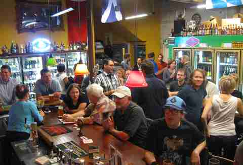 Crowd at BeerMongers