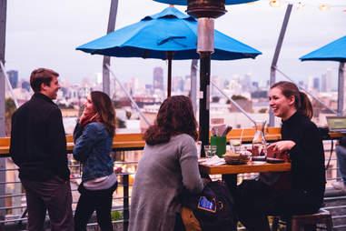 dining at El Techo de Lolinda