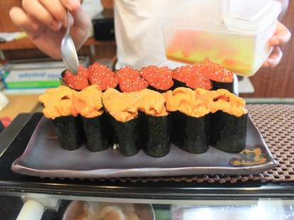 Sushi at  Mitch's Fish Market