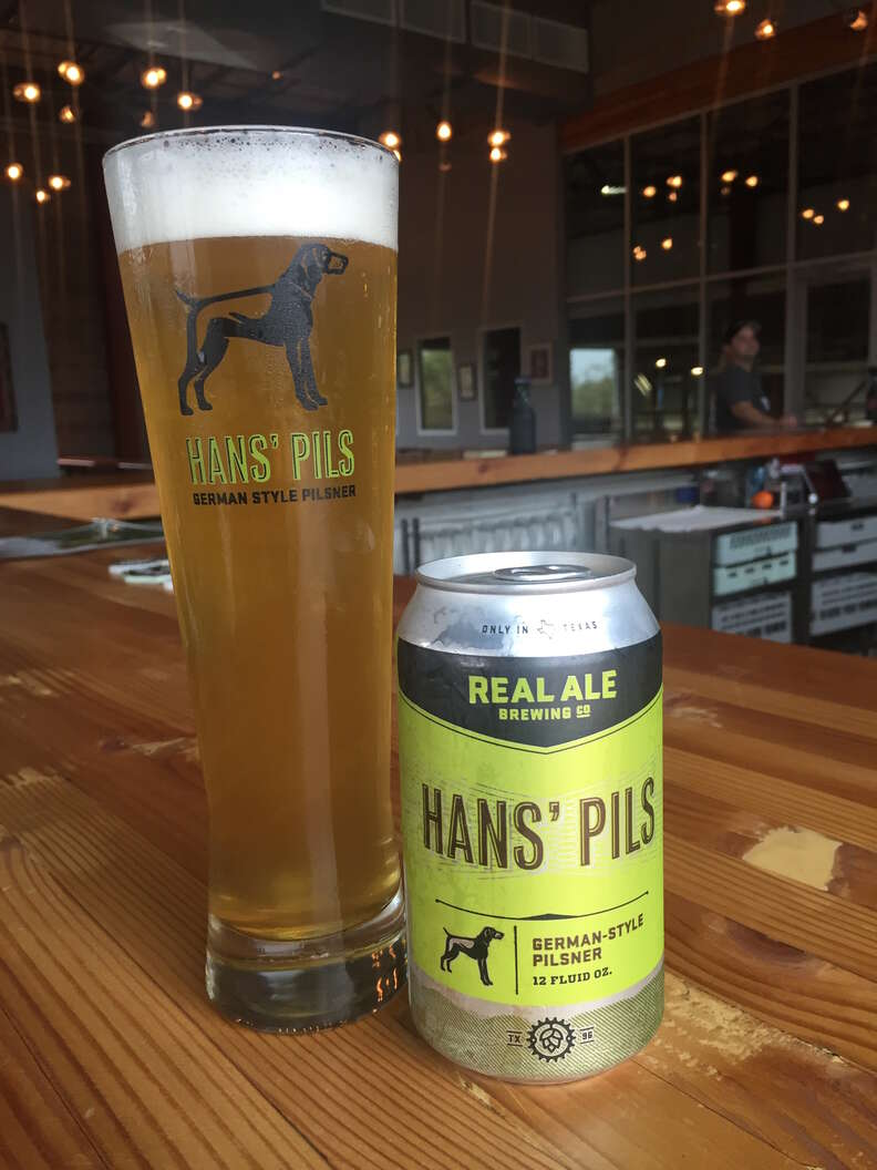 Real Ale Brewing Co,, Hans Pils