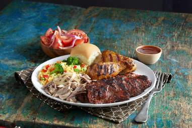 Pollo Tropical platter