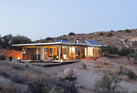 Airbnb in the desert