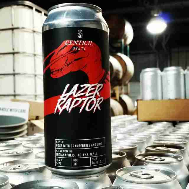 lazer raptor beer best brewery indianapolis