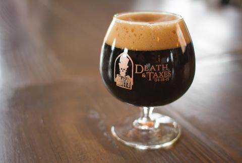 taxman brewing company death and taxes beer