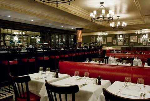 Dean Street Townhouse interior london uk