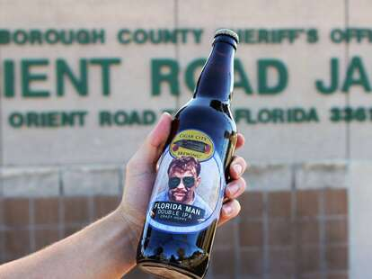 Cigar City Brewing Florida Man beer