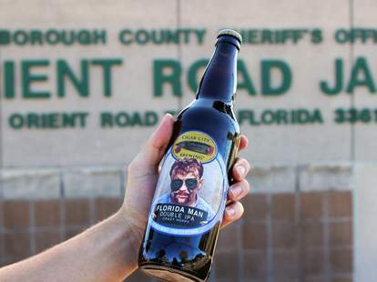 Cigar City Brewing Florida Man beer