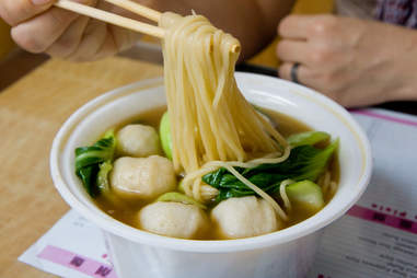 Hand-pulled noodles lamian