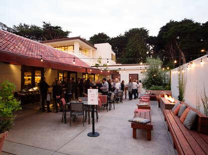 Arguello patio in San Francisco