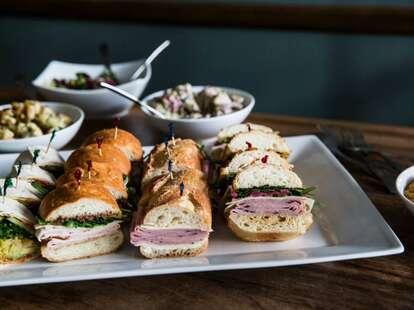Arlequin Cafe & Food To Go, sandwich platter