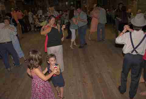Jolly Inn dance floor
