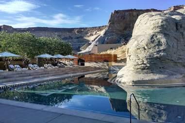 Pool at Amangiri Utah