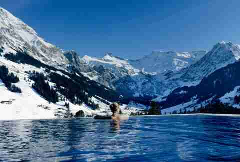 The Cambrian Adelboden pool