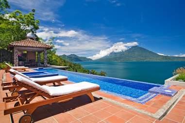 Casa Polopo Guatemala Pool