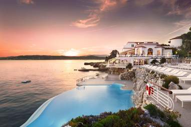 Hotel du Cap Eden-Roc Cliffside Pool