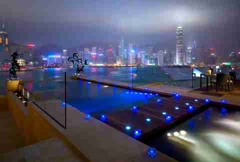 Pool at Intercontinental Hong Kong