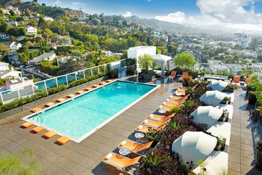 Andaz West Hollywood Pool View