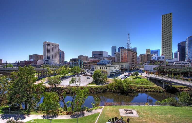 Buffalo Bayou and Downtown Houston