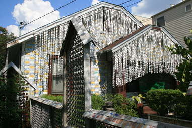 beer can house in Houston