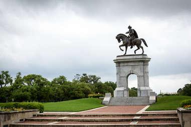 Sam Houston statue in Texas