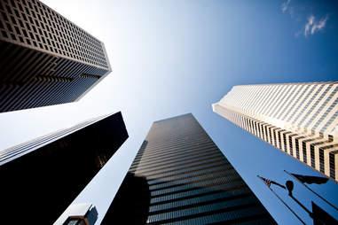 High rises Houston