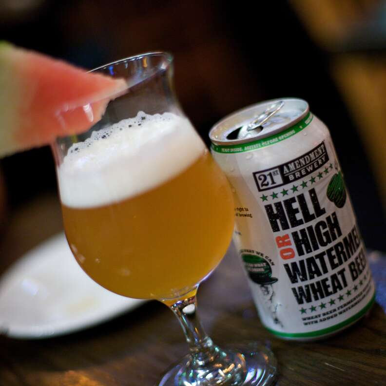 21st Amendment Brewery Hell or High Watermelon