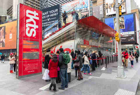 TKTS booth in Times Square, New York City