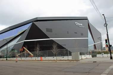 US Bank Stadium, new Vikings stadium