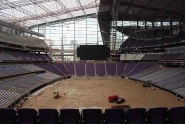 US Bank Stadium, Vikings stadium interior