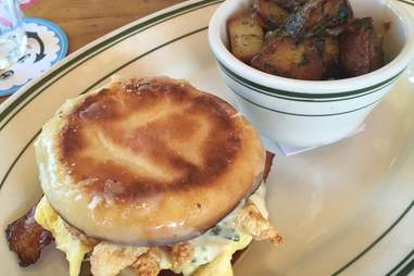 Connie and Ted's Breakfast Sandwich