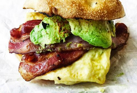 The Eastman Egg Company chicago bacon avocado