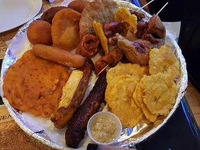 La Bomba Restaurant Puerto Rican food