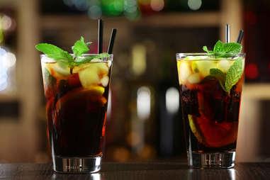 coca cola cocktails