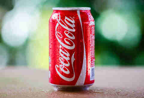can of coca cola