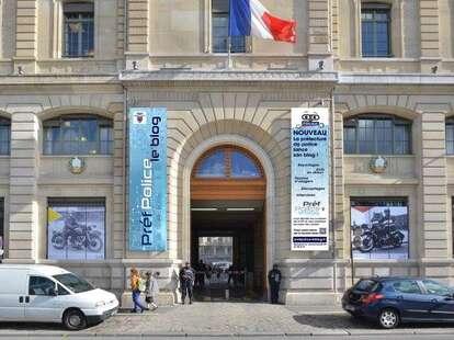 Police Department paris france