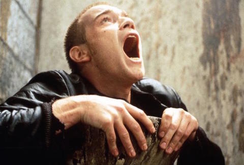 Ewan McGregor as Renton in Trainspotting