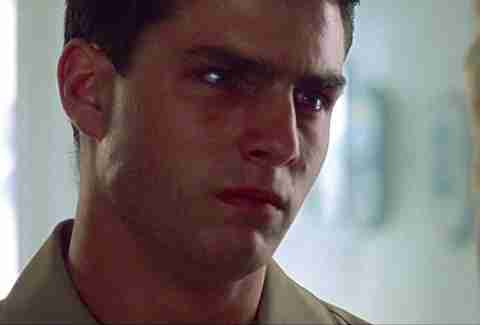 tom cruise crying in top gun