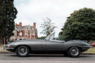 A 1963 Series I E-Type Jaguar