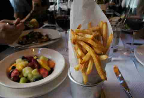 steak fries, Balthazar New York, Balthazar steak fries