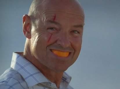 Lost, John Locke, Orange in mouth