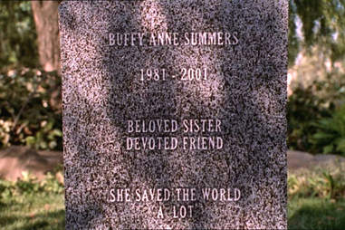 Buffy The Vampire Slayer, Buffy Summers, Grave